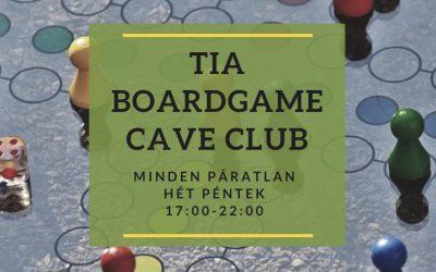 TIA Board Game Társasjáték klub